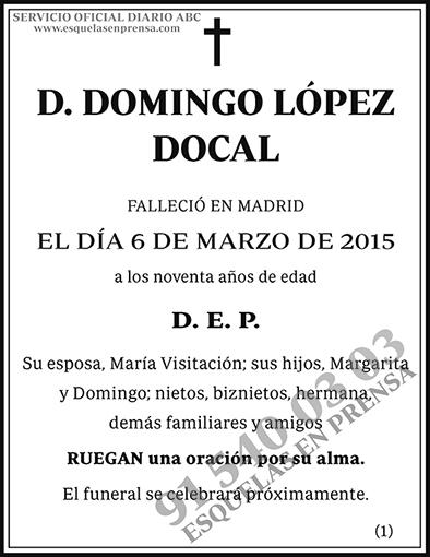 Domingo López Docal